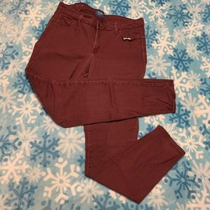 Maroon Old Navy Jeans